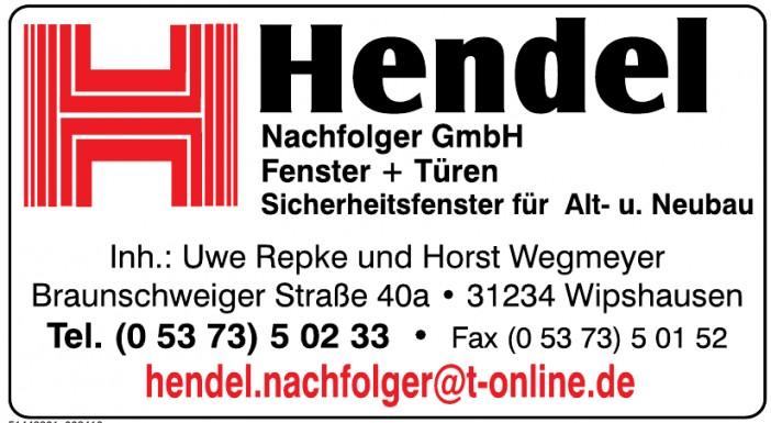 Hendel Nachfolger GmbH Fenster + Türen