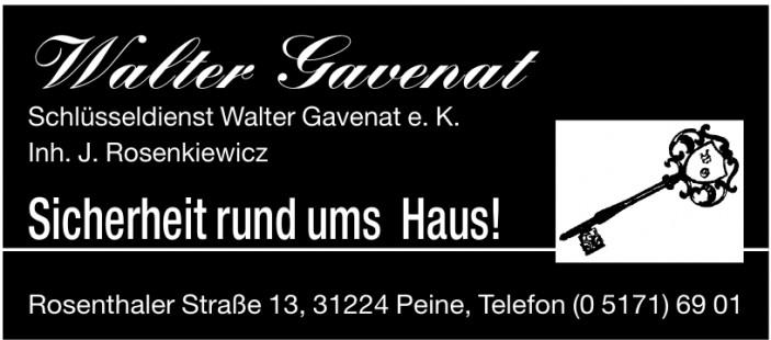 Schlüsseldienst Walter Gavenat e. K.