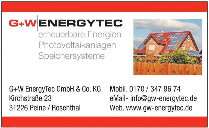 G+W EnergyTec GmbH & Co. KG