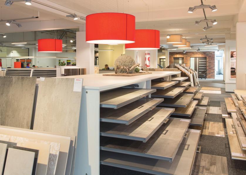 Moderne Bodenbeläge garantieren nahezu grenzenlose Gestaltungsmöglichkeiten.
