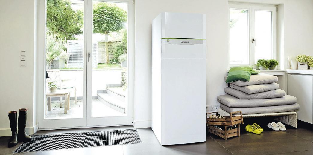Kuschelig warm selbst an frostigen Tagen: Wärmepumpensysteme nutzen bis zu 75 Prozent Umweltwärme sowie Strom als Energie für den Antrieb. djd/Vaillant