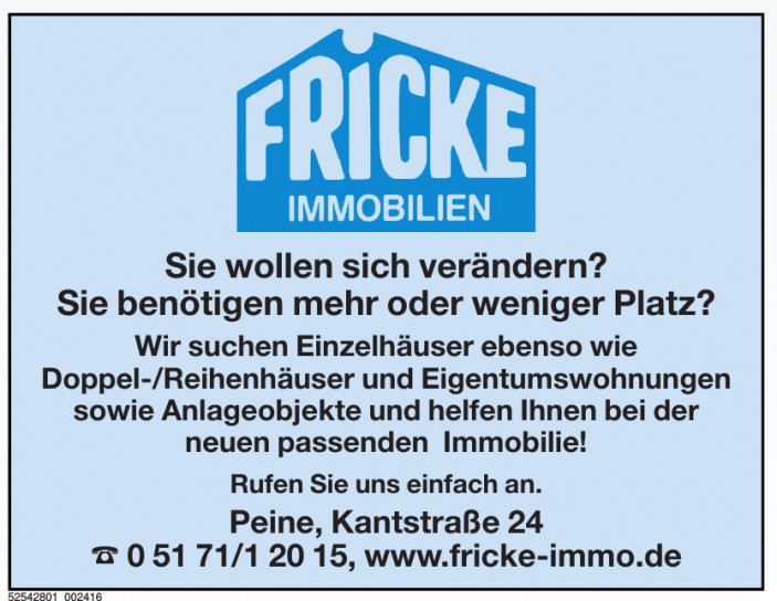 Fricke Immobilien