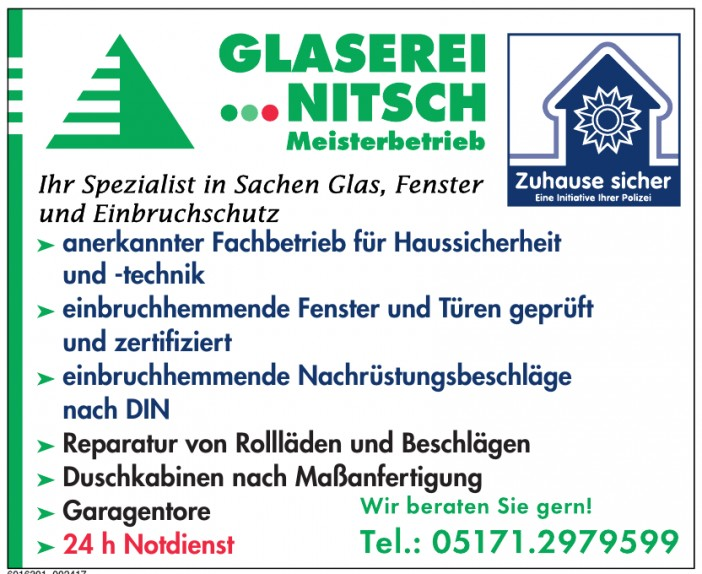 Glaserei Nitsch Meisterbetrieb